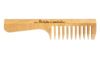 WOODEN COMB WITH HANDLE RD3301