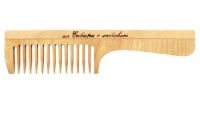WOODEN COMB WITH HANDLE RD3201